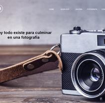 Fotografía. A Web Design, and Web Development project by Francisco Ramírez         - 24.07.2017