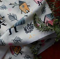 Mi Proyecto del curso: Diseño de estampados textiles. A Design, Illustration, and Fashion project by Iratxe González - 27-07-2017
