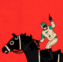 Jockey. A Illustration project by Álvaro Bernis - 25-07-2017
