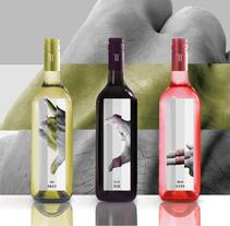 Etiquetas de para trilogía de vinos Castellroig. A Packaging project by marc satlari - 25-07-2017