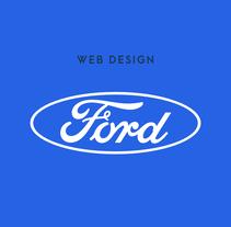 Ford - Web Design. Um projeto de Design, Design gráfico e Web design de Luis Lara Lara         - 25.07.2017