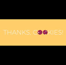 Thanks, cookies!. A Motion Graphics, Animation, and Art Direction project by Álvaro Abrante         - 26.07.2017