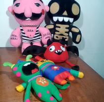 Mi Proyecto del curso: Textile Toys: diseño y creación de personajes en tela. Um projeto de Design, Design de personagens, Artesanato, Design de brinquedos e Diseño de patrones de María González         - 27.07.2017