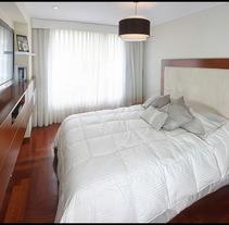 Muebles de Dormitorio Matrimonial. Un proyecto de Diseño, Arquitectura, Diseño de muebles, Arquitectura interior y Diseño de interiores de Cecilia Milagros García         - 02.08.2017