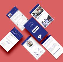 RRHH App. Um projeto de Design e UI / UX de Ana Cobos Escalante         - 03.08.2017