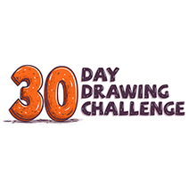 30 Day Drawing Challenge. A Design, Illustration, Animation, Art Direction, Character Design, Design Management, Fine Art, Graphic Design, Calligraph, Comic, Street Art, Lettering, and Vector illustration project by Shiffa McNasty         - 09.08.2017