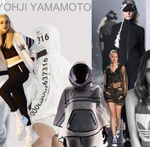 Fashion collectioAdidas Y-3. . Un proyecto de Diseño, Ilustración, Br, ing e Identidad, Moda e Ilustración vectorial de Montse Diego         - 12.08.2017