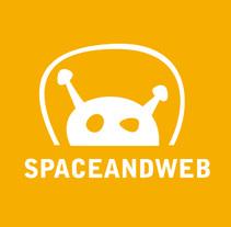 Spaceandweb, Logotipo y Tarjeta de Visita.. Un proyecto de Br e ing e Identidad de Carlos Vargas Gutiérrez         - 02.09.2017