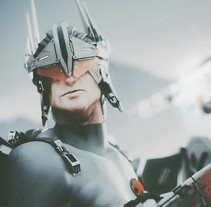 HAWKMAN DC Comics Re-diseño / ROBOT. Un proyecto de Publicidad, Cine, vídeo, televisión, 3D, Diseño de personajes, Diseño de vestuario, Diseño industrial, Paisajismo, Diseño de iluminación, Post-producción, Escultura, Escenografía, Diseño de juguetes, Comic, VFX, Producción y Animación de personajes de Ro Bot - 12-09-2017