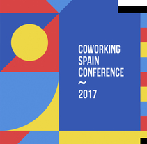 Coworking Spain Conference 2017. A Br, ing, Identit, Graphic Design, and Web Development project by Wild Wild Web          - 11.09.2017