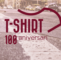 100 ANIVERSARI TSHIRT. A Design, Br, ing, Identit, and Graphic Design project by Irene Balagué          - 15.09.2017