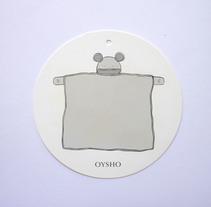 Diseño etiqueta Oysho. Colección Otoño / Invierno 2017 . Un proyecto de Diseño y Diseño de producto de Raquel Sarabia Ruda - 15-03-2017