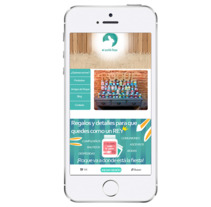 Renovación web de Mi Querido Roque. Un proyecto de Diseño Web y Desarrollo Web de Carolina Moya Comin         - 02.04.2015