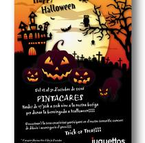 Juguettos Halloween. Un proyecto de Publicidad, Gestión del diseño y Diseño gráfico de Tatiana Lázare García         - 24.10.2017