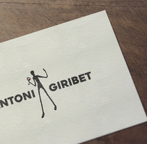 Marca Antoni Giribet. Un proyecto de Br, ing e Identidad y Diseño gráfico de Comboi Gràfic         - 15.02.2017