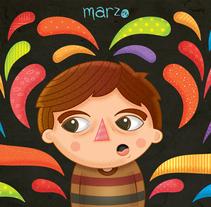 Ilustraciones. Un proyecto de Ilustración, Diseño de personajes y Diseño gráfico de Adrian  Garcia - 28-09-2017