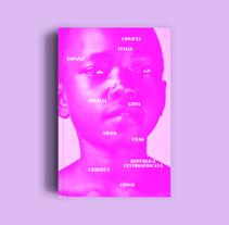 Bookcover: 11 fronteras. Um projeto de Direção de arte, Design editorial e Design gráfico de Comba         - 30.09.2017