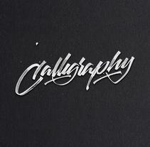 Experimentos con el tiralíneas . Un proyecto de Diseño gráfico, Caligrafía y Lettering de Daniel Hosoya - 02-10-2017