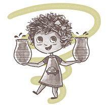 Huracán Daniela. A Illustration project by Carol Sánchez González         - 05.10.2017