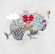 Roselló Psicología. Un proyecto de Ilustración, Diseño gráfico y Collage de Yolanda Go         - 15.04.2016
