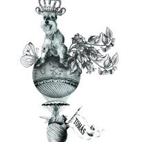Tomás. Un proyecto de Ilustración, Pintura y Collage de Cristian Moro         - 16.10.2017