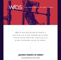 Rebranding W/OS Web. A Web Design project by Álvaro Navalón - 30-08-2017