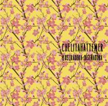 Patterns textil flower ja. Un proyecto de Diseño gráfico, Diseño de interiores, Packaging, Diseño de patrones e Ilustración vectorial de marcela hattemer         - 16.10.2017