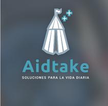 Diseño app Aidtake. Um projeto de Design de Edith Llop Roselló         - 15.08.2017