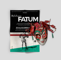 Maledizione Fatum. A Advertising, Art Direction, and Graphic Design project by Inma Gómez         - 23.01.2016
