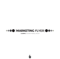 Marketing Flyer. A Graphic Design project by Gleyfler Salvador         - 15.09.2017