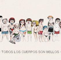 DIVERSIDAD DE CUERPO. Um projeto de Design e Ilustração de Carmen  Vázquez  - 19-10-2017