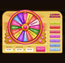 Ruleta Bingo par juegos móviles. A Design, Motion Graphics, UI / UX, Art Direction, Game Design, and Graphic Design project by Alicia Roig - 19-10-2017