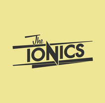 THE IONICS · Logo Design. A Br, ing, Identit, Graphic Design, T, and pograph project by Carlos Salar         - 13.03.2014