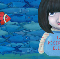 La pecera de Elena. A Illustration project by Ávelin Ilustradora         - 24.10.2017
