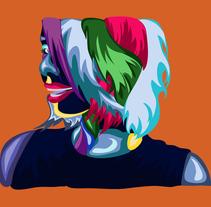 Mis colores Nuevo proyecto. A Vector illustration project by Eduardo Solorzano         - 27.10.2017