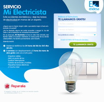 Landings de Servicios. Un proyecto de Diseño Web de Jhonatan Andrés González Ordoñez         - 29.10.2017