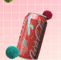 Coca Cola. A 3D project by Wendy Monroy - 25-10-2017