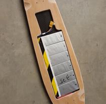 Longboard eléctrico (Diseño y fabricación). A Product Design project by Borja Díaz Ruíz-Ruano - 30-10-2017