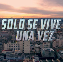 "Créditos inicio película ""SÓLO SE VIVE UNA VEZ"". A Motion Graphics, 3D, Film Title Design, Post-Production, and Film project by Sergio Hernández          - 24.04.2017"