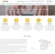Kschool. A Web Development project by Dulce De-León Fernández - 31-10-2017