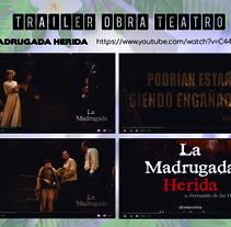 Trailer La Madrugada Herida. A Video project by Alejandro Alia - 31-10-2017