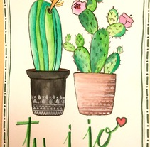 Watercolor, Lettering...provan!. A Fine Art, and Lettering project by Sandra Suàrez i Plana         - 01.11.2017