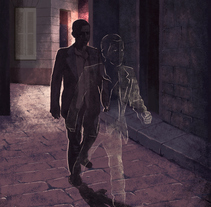 UN TIPO SENCILLO. A Illustration project by Maria Lumbreras         - 07.09.2014