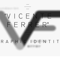 VICENTE FERRER. LOGO PROJECT. A Br, ing, Identit, and Graphic Design project by Lucía  Ortega Franco         - 08.11.2017