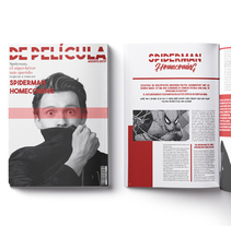 "Revista ""De Película"". A Design, and Editorial Design project by Almudena La Orden  - 08-11-2017"