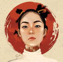proyecto, cultura. Primera ilustración. A Illustration project by Susana Ríos - 10-11-2017