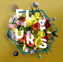 Título: Fleurs. | Proyecto: Yo y las ideas.. Un proyecto de Diseño, Diseño gráfico y Lettering de Ignacio Fdez.         - 11.11.2017