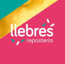 llebrés, respostería. A Design, Br, ing, Identit, Graphic Design, Marketing, Packaging, T, pograph, and Lettering project by Lola Téllez - 11-11-2017