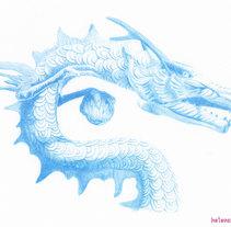 Jewelry illustration for Marahlago. Un proyecto de Ilustración, Diseño editorial, Bellas Artes, Diseño de jo, as y Pintura de Helena de la Cruz - 11-11-2017