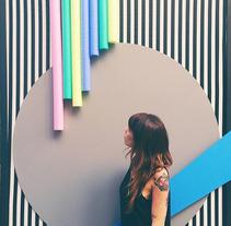 DecorAccion 2015 (intervención fachada). A Art Direction, Crafts, Interior Architecture&Interior Design project by Raquel Sanchez         - 12.11.2017